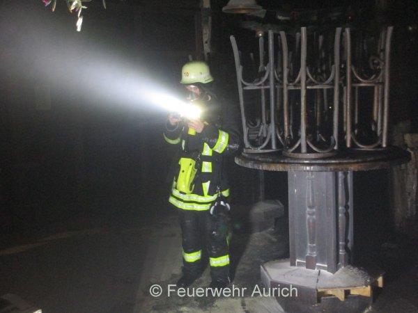 Auslösung Brandmeldeanlage